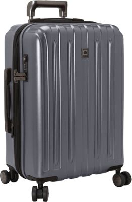 Delsey Helium Titanium Carry-On Expandable Spinner Trolley Graphite - Delsey Hardside Carry-On
