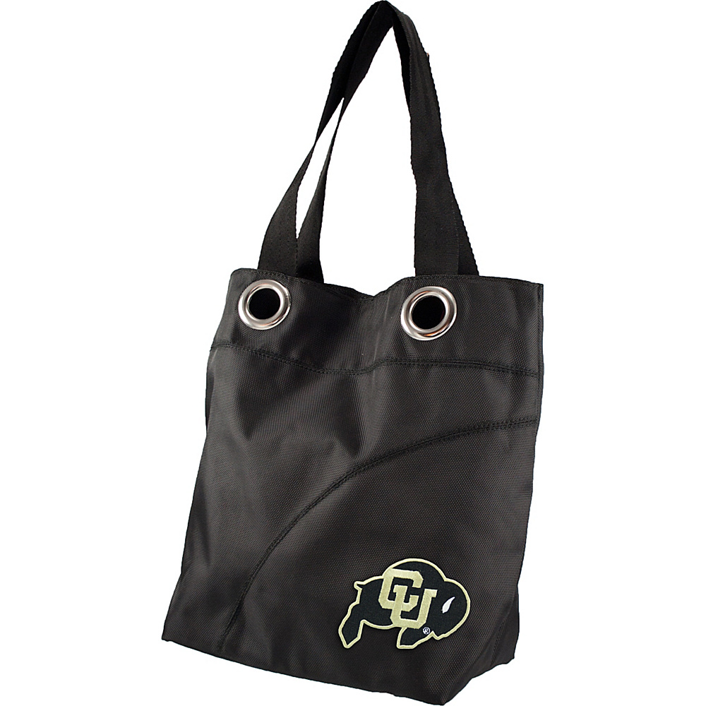 Littlearth Color Sheen Tote - Pac 12 Teams University of Colorado - Littlearth Fabric Handbags - Handbags, Fabric Handbags