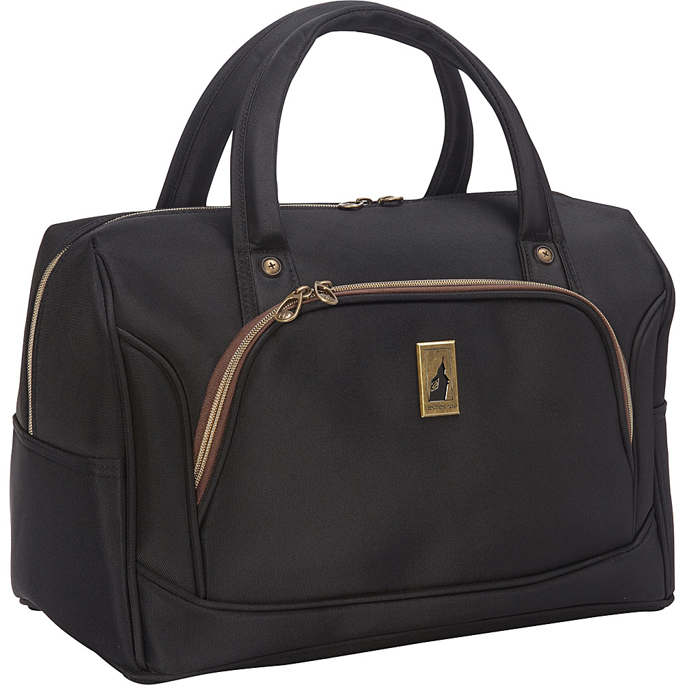 London Fog Coventry Ultra Lite Collection 17 Cabin Carry On Black London Fog Rolling Duffels