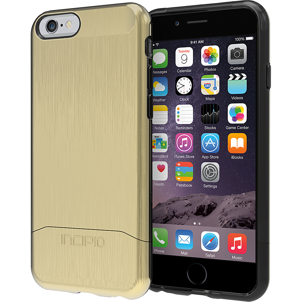 Incipio Edge SHINE iPhone 6 6s Case Gold Incipio Electronic Cases
