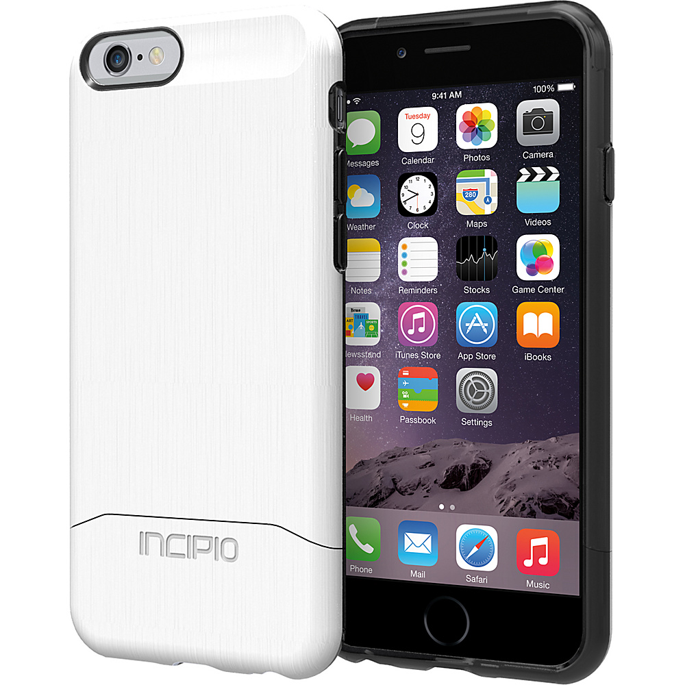 Incipio Edge SHINE iPhone 6 6s Case White Incipio Electronic Cases