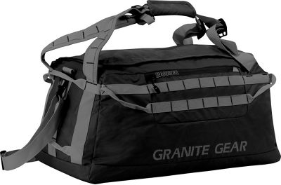 Granite Gear 24 inch Packable Duffel Black/Flint - Granite Gear Outdoor Duffels