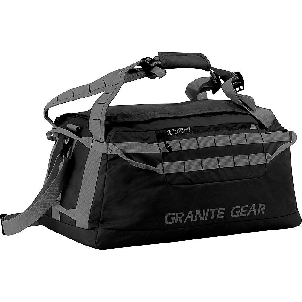 "Granite Gear 24"" Packable Duffel Black/Flint - Granite Gear Lightweight packable expandable bags"