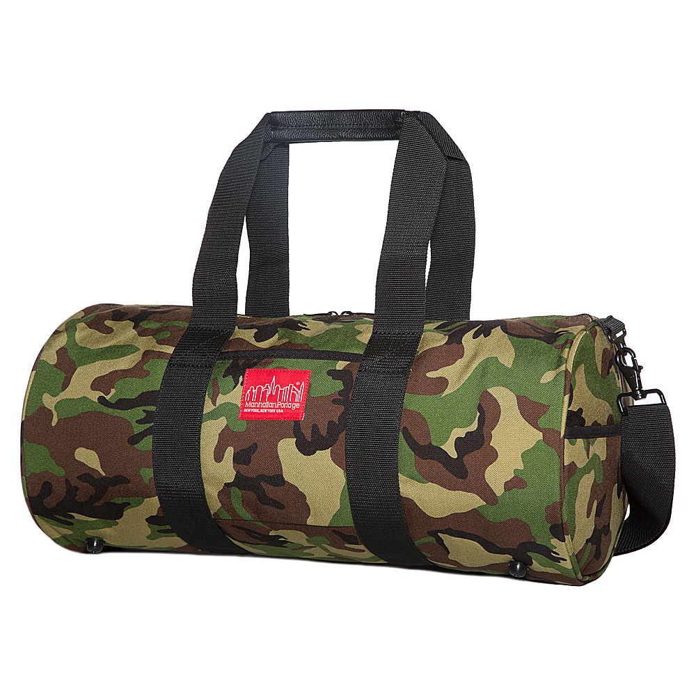 Manhattan Portage Chelsea Large Drum Duffel Bag Camouflage - Manhattan Portage Travel Duffels - Duffels, Travel Duffels