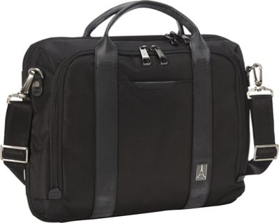 Travelpro Crew Executive Choice Checkpoint Friendly Slim Laptop Case Black - Travelpro Non-Wheeled Business Cases