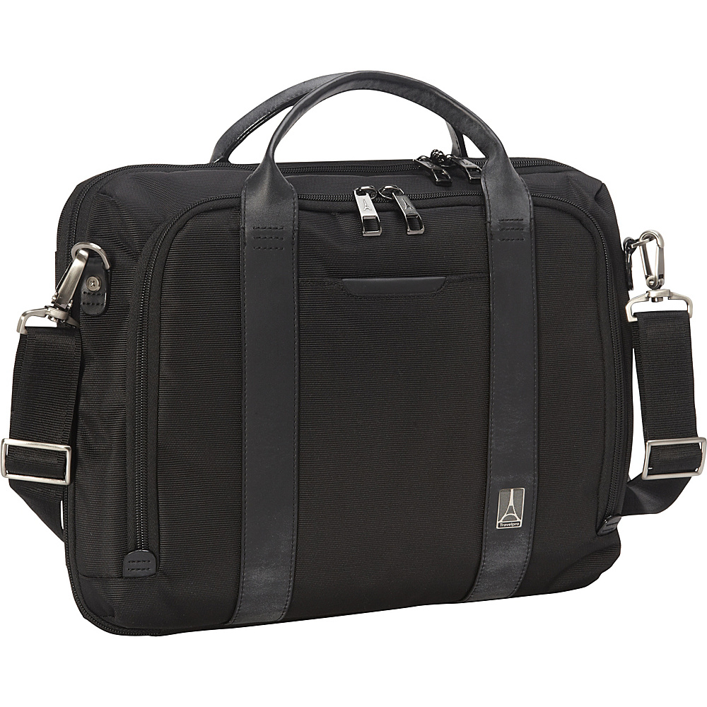 Travelpro Crew Executive Choice Checkpoint Friendly Slim Laptop Case Black Travelpro Non Wheeled Business Cases