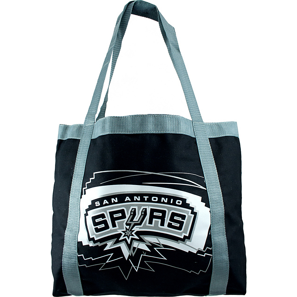 Littlearth Team Tailgate Tote - NBA Teams San Antonio Spurs - Littlearth Fabric Handbags - Handbags, Fabric Handbags