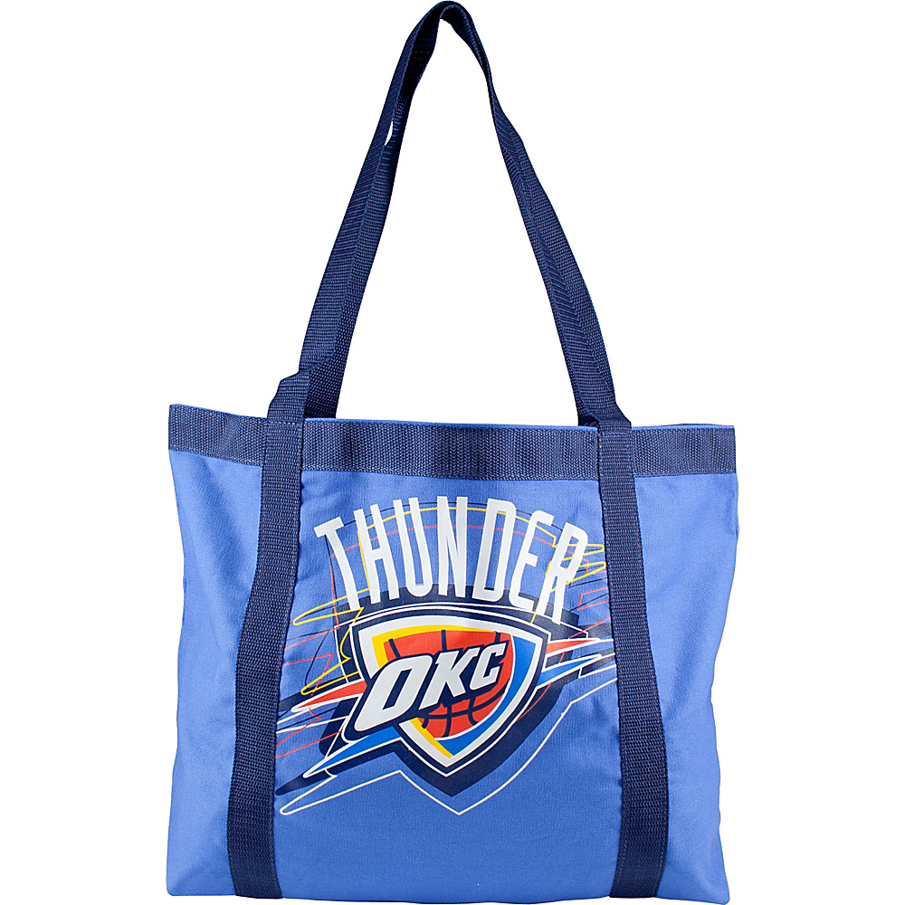 Littlearth Team Tailgate Tote - NBA Teams Oklahoma City Thunder - Littlearth Fabric Handbags - Handbags, Fabric Handbags