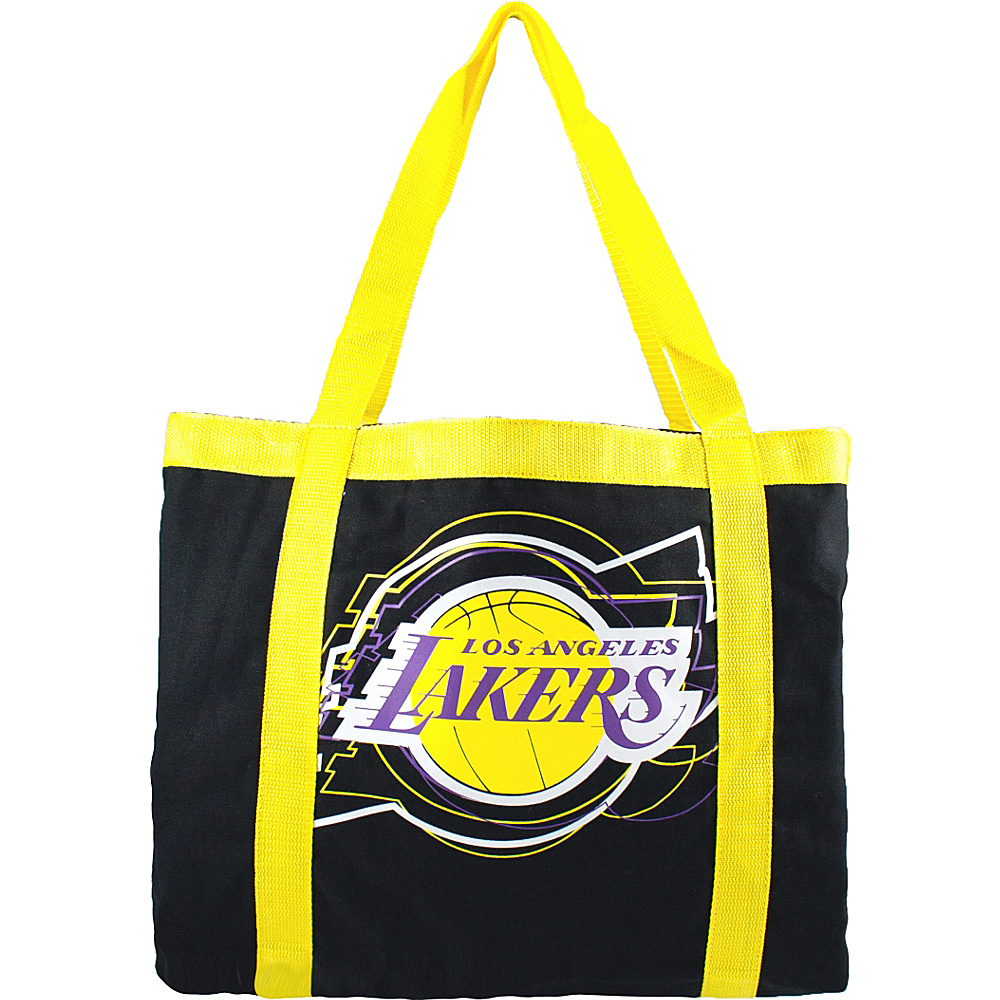 Littlearth Team Tailgate Tote - NBA Teams Los Angeles Lakers - Littlearth Fabric Handbags - Handbags, Fabric Handbags