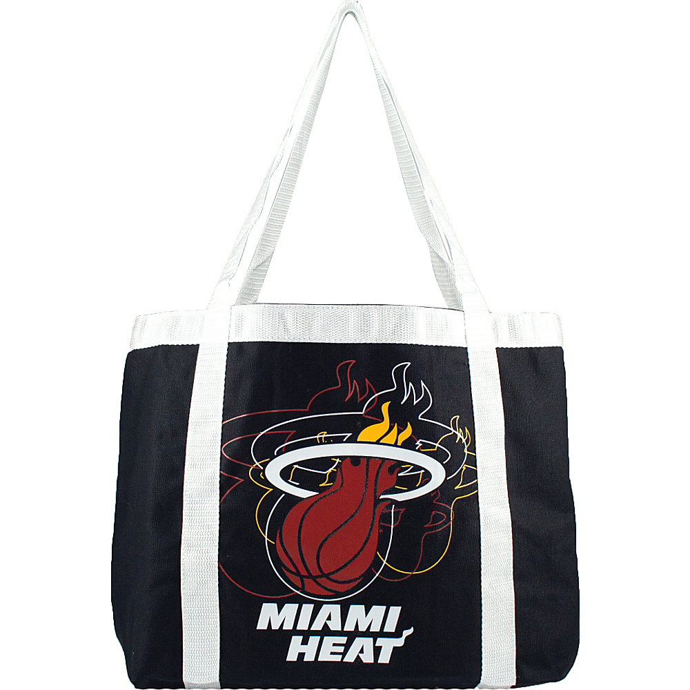 Littlearth Team Tailgate Tote - NBA Teams Miami Heat - Littlearth Fabric Handbags - Handbags, Fabric Handbags