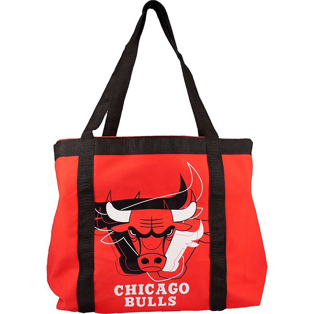 Littlearth Team Tailgate Tote - NBA Teams Chicago Bulls - Littlearth Fabric Handbags - Handbags, Fabric Handbags