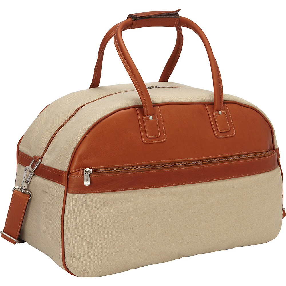 Piel Travel Satchel Saddle - Piel Rolling Duffels - Luggage, Rolling Duffels