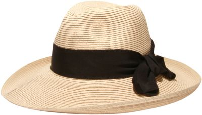 Physician Endorsed Adriana Hat One Size - Natural/Black - Physician Endorsed Hats/Gloves/Scarves