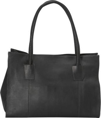 Latico Leathers Festival Tote Black - Latico Leathers Leather Handbags