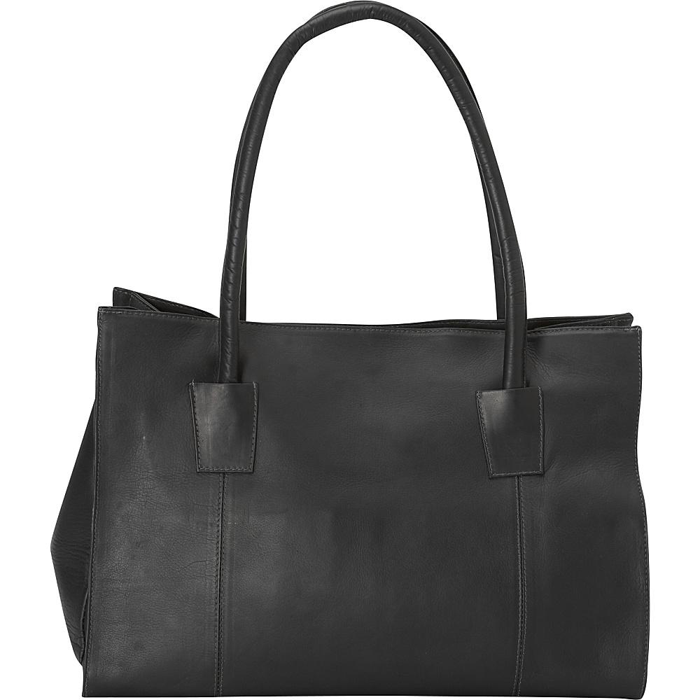 Latico Leathers Festival Tote Black - Latico Leathers Leather Handbags - Handbags, Leather Handbags