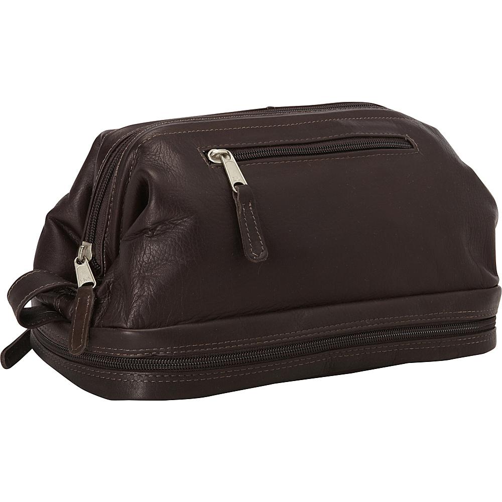 Latico Leathers Uptown Travel Kit Café - Latico Leathers Toiletry Kits - Travel Accessories, Toiletry Kits