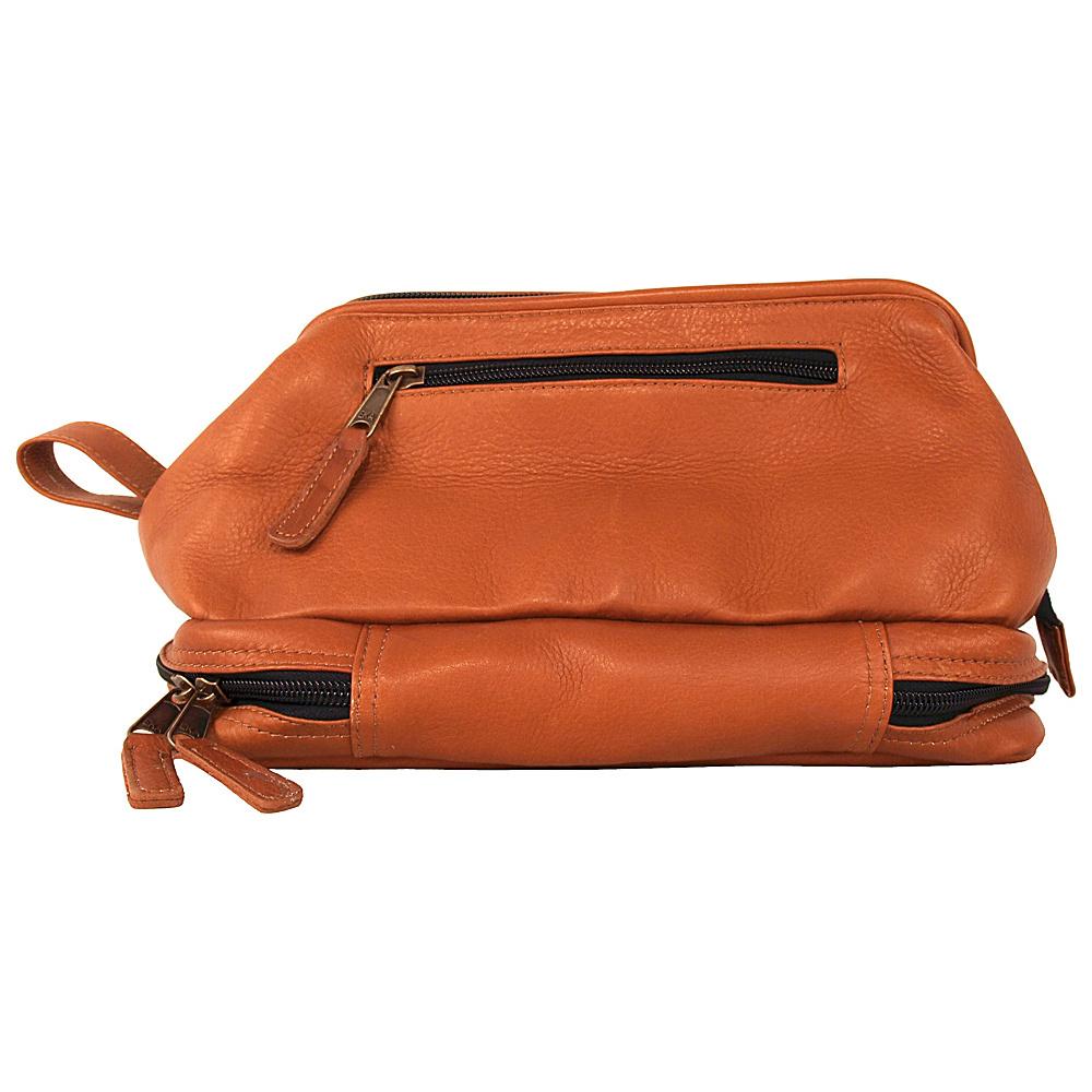 Latico Leathers Uptown Travel Kit Natural - Latico Leathers Toiletry Kits - Travel Accessories, Toiletry Kits