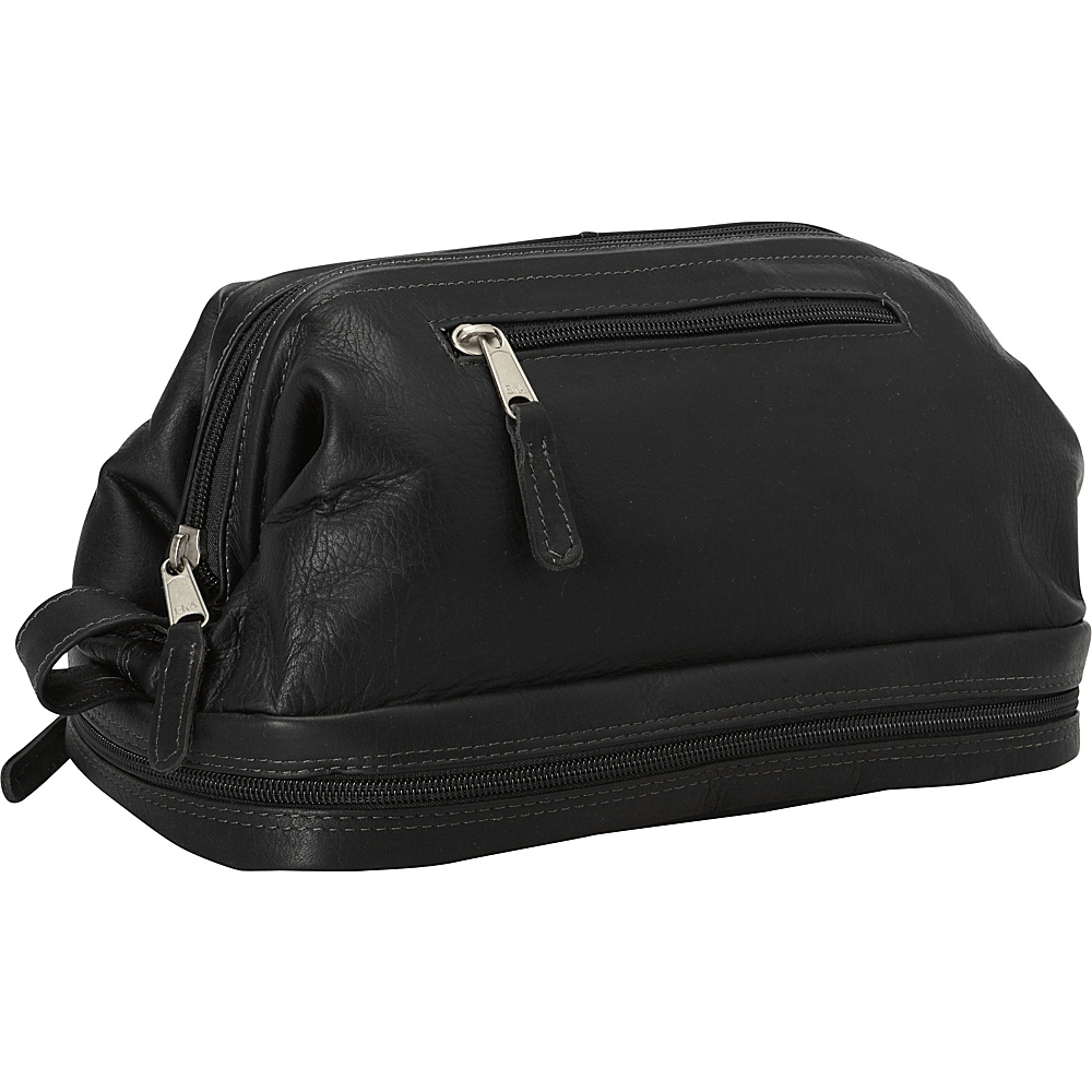 Latico Leathers Uptown Travel Kit Black - Latico Leathers Toiletry Kits - Travel Accessories, Toiletry Kits