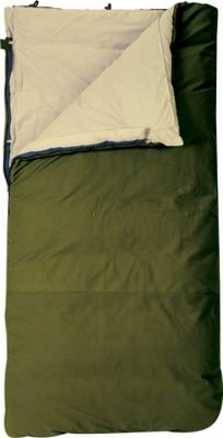 Slumberjack Country Squire 0 Degree Long Right Hand Sleeping Bag Forest green - Slumberjack Outdoor Accessories