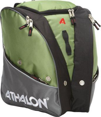 Athalon Tri-Athalon Boot Bag Grass/Gray - Athalon Ski and Snowboard Bags
