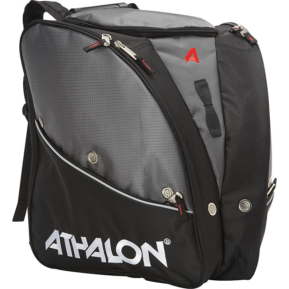 Athalon Tri-Athalon Boot Bag Silver w/ Black - Athalon Ski and Snowboard Bags