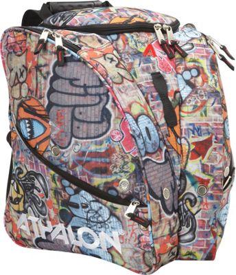 Athalon Tri-Athalon Boot Bag Graffiti - Athalon Ski and Snowboard Bags