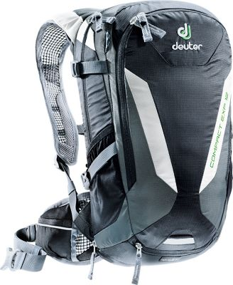 Deuter Compact EXP 12 w/ 3L Res. Hydration Pack Black/Granite - Deuter Hydration Packs and Bottles
