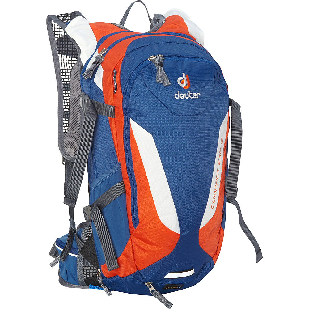 Deuter Compact EXP 12 w 3L Res. Hydration Pack steel papaya Deuter Hydration Packs and Bottles