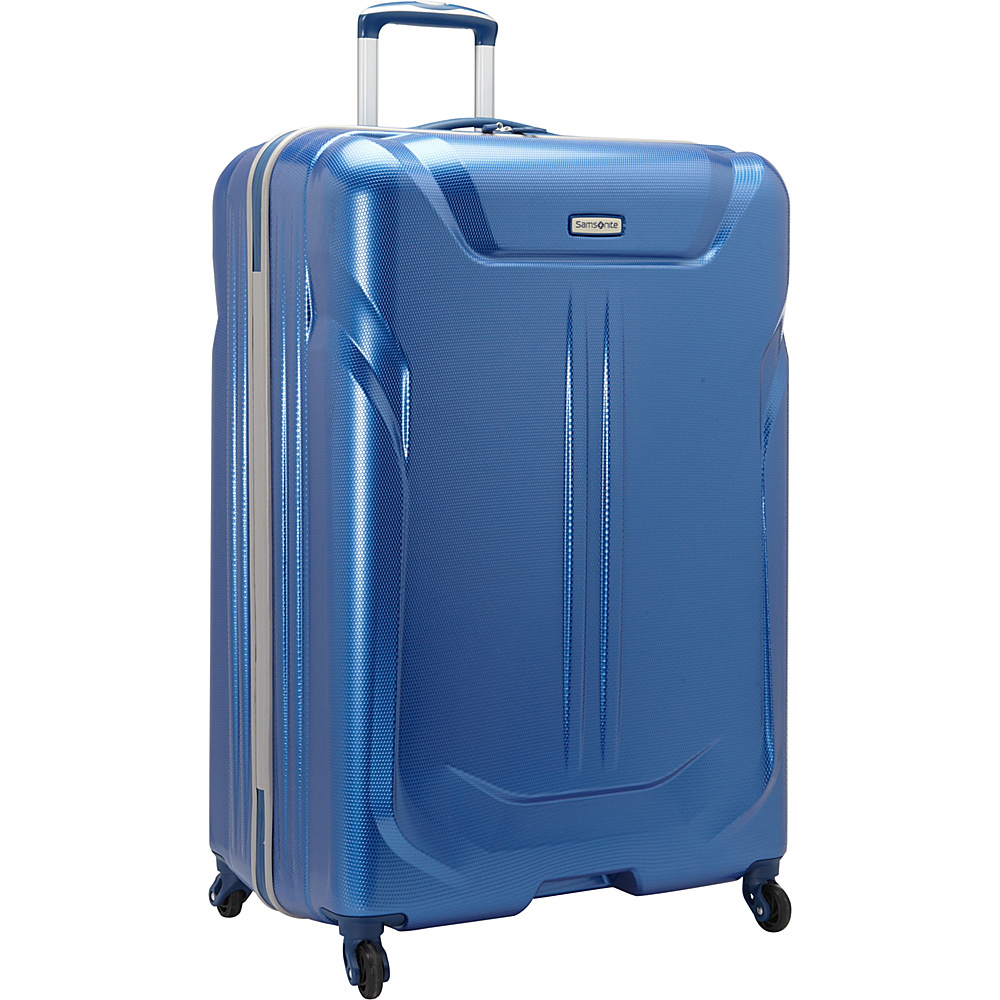 Samsonite LiFTwo Hardside Spinner 29 Blue Samsonite Hardside Checked