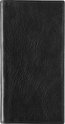 Johnston & Murphy Checkbook Cover Black - Johnston & Murphy Men's Wallets