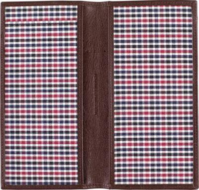 Johnston & Murphy Checkbook Cover Black - Johnston & Murphy Men's Wallets
