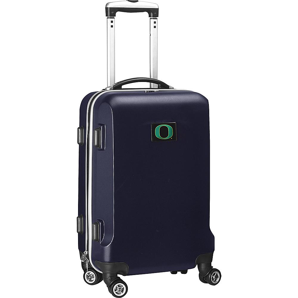 """Denco Sports Luggage NCAA 20"""" Domestic Carry-On Navy University of Oregon Ducks - Denco Sports Luggage Hardside Luggage"""