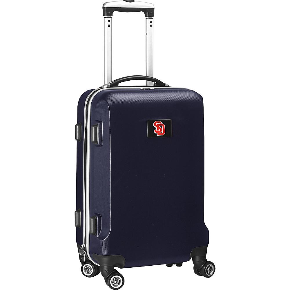 Denco Sports Luggage NCAA 20 Domestic Carry-On Navy South Dakota State University Jackrabbits - Denco Sports Luggage Hardside Carry-On - Luggage, Hardside Carry-On