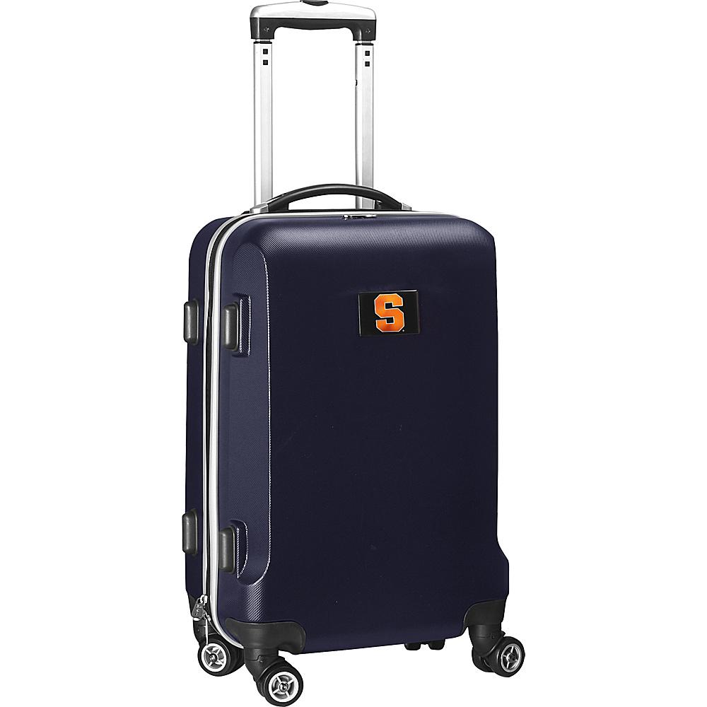 Denco Sports Luggage NCAA 20 Domestic Carry-On Navy Syracuse University Orange - Denco Sports Luggage Hardside Carry-On - Luggage, Hardside Carry-On