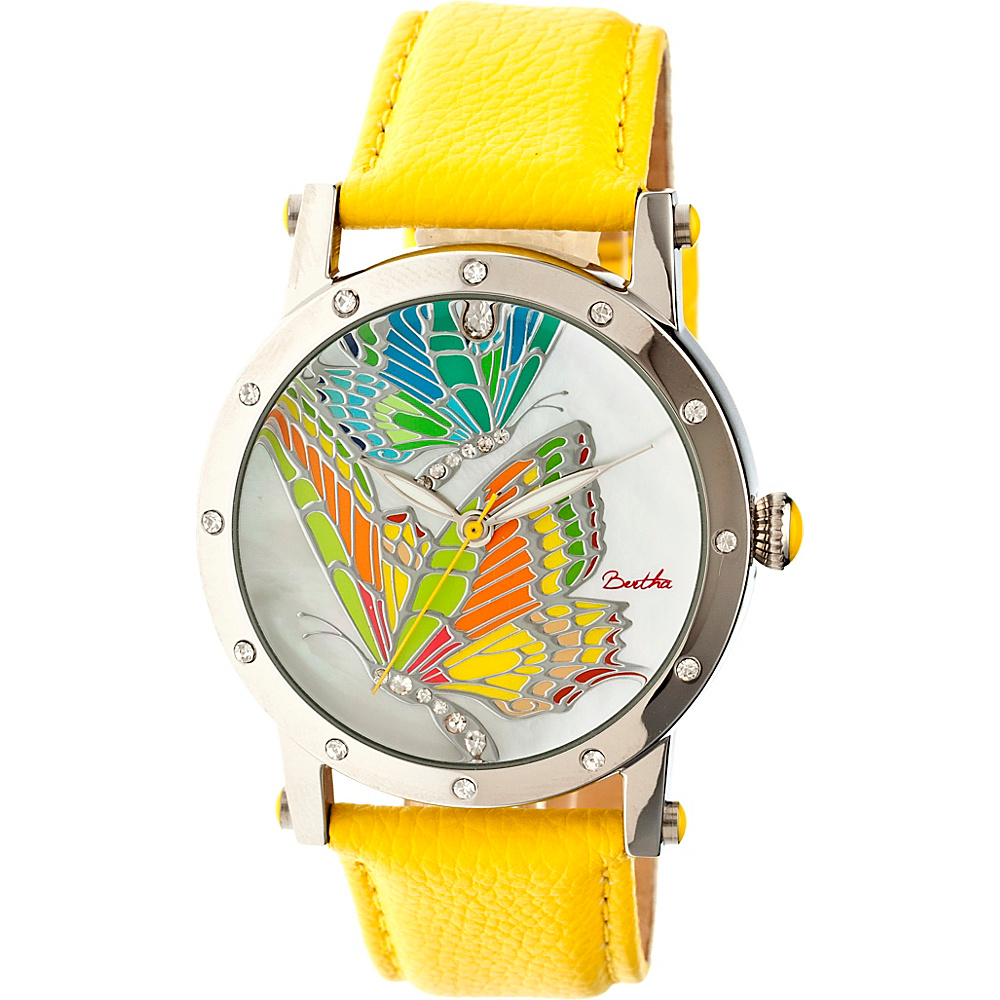 Bertha Watches Isabella Watch Yellow Multicolor Bertha Watches Watches
