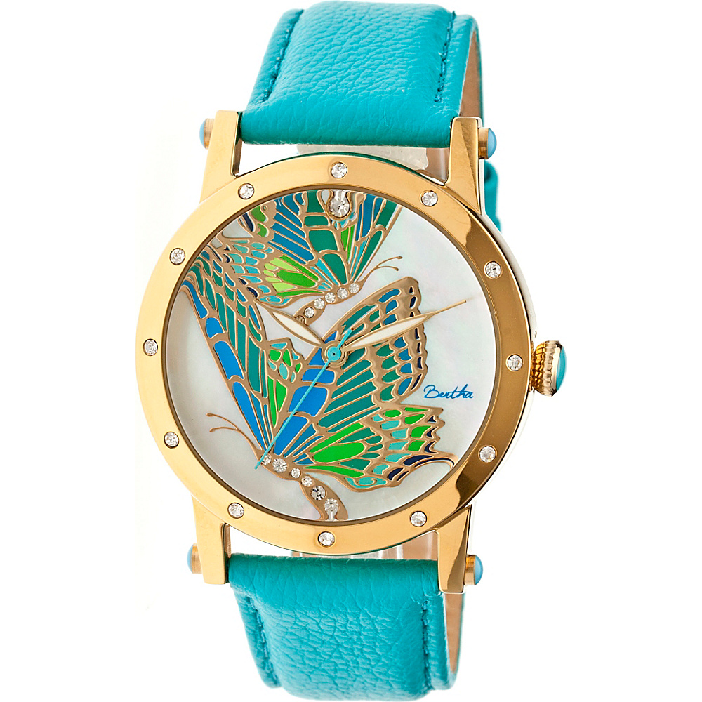 Bertha Watches Isabella Watch Turquoise Multicolor Bertha Watches Watches