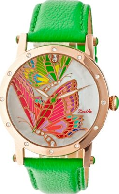 Bertha Watches Isabella Watch Green/Multicolor - Bertha Watches Watches
