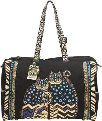 Laurel Burch Polka Dot Gatos Shoulder Bag Multi - Laurel Burch Fabric Handbags