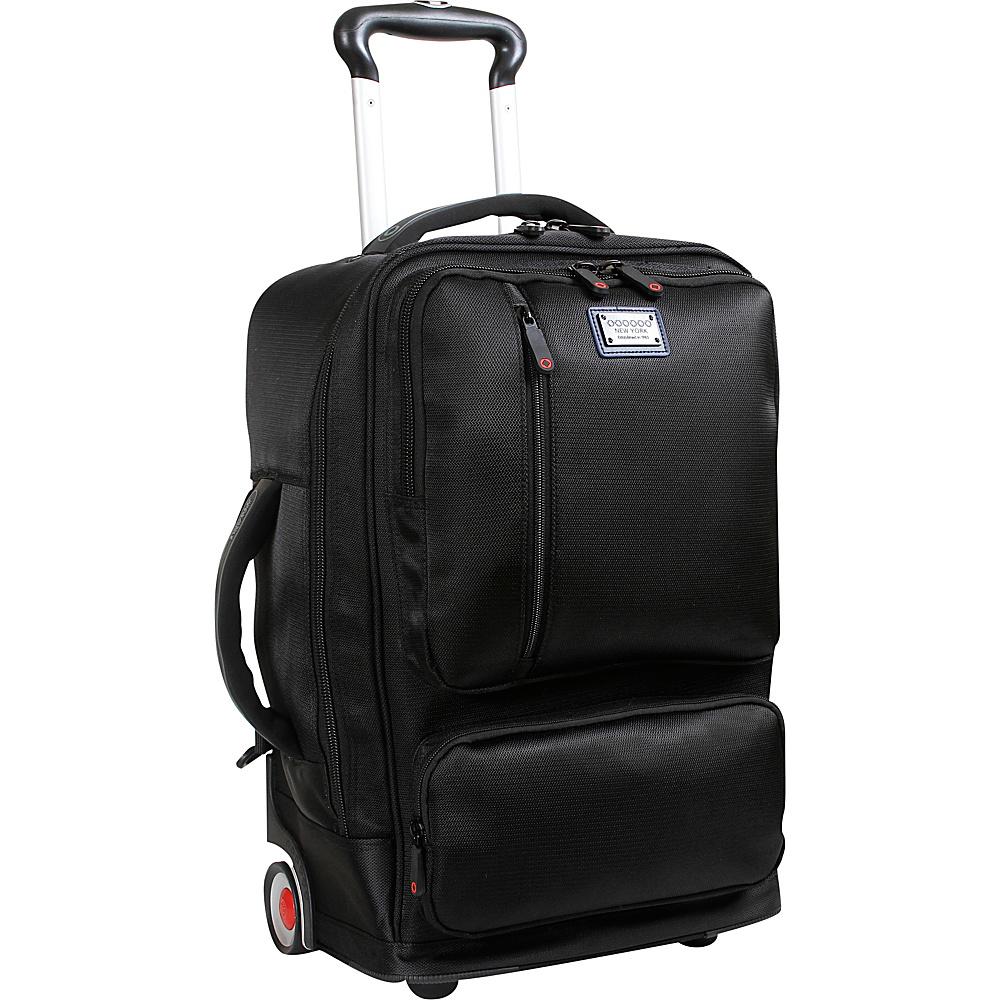 J World New York Oliver Business Carry-On Black - J World New York Business & Laptop Backpacks - Backpacks, Business & Laptop Backpacks