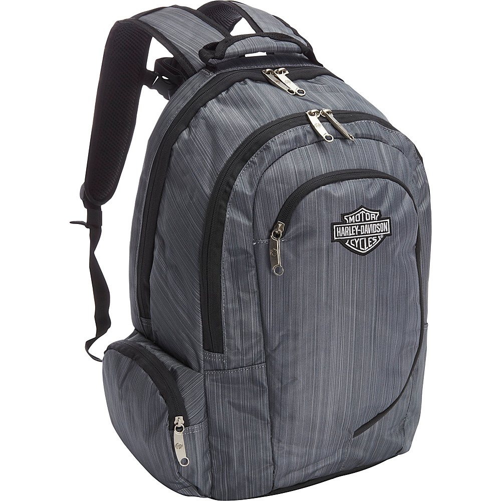 Harley Davidson by Athalon Backpack Steel Grey Harley Davidson by Athalon Business Laptop Backpacks