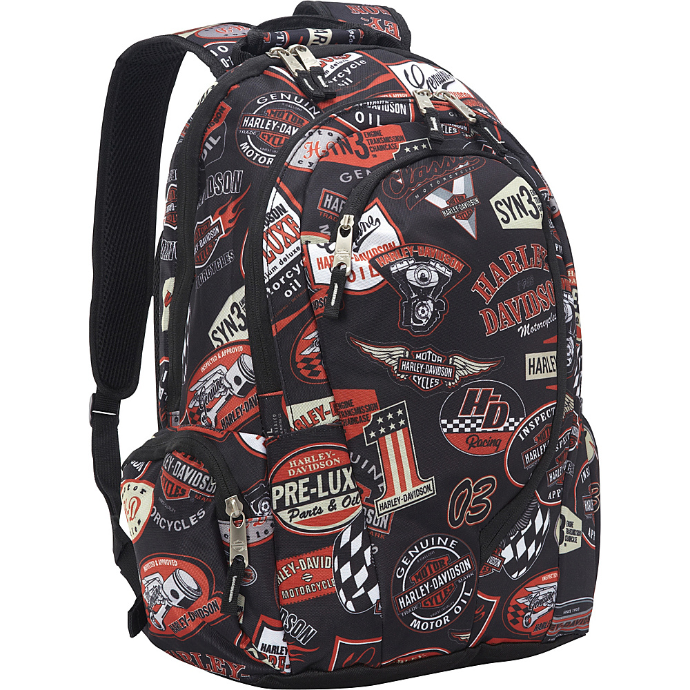 Harley Davidson by Athalon Backpack Vintage Harley Davidson by Athalon Business Laptop Backpacks
