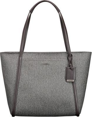 Tumi Sinclair Small Q-Tote Earl Grey - Tumi Designer Handbags