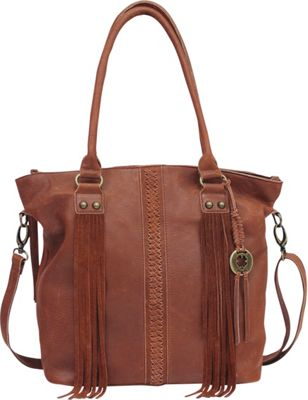 Lucky Brand Gemma Tote Brandy - Lucky Brand Leather Handbags