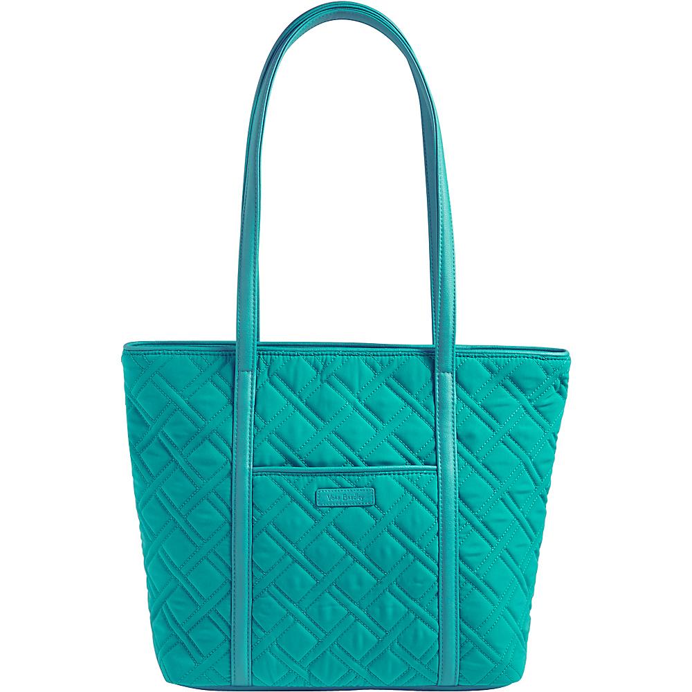 Vera Bradley Small Trimmed Vera - Solids Turquoise Sea - Vera Bradley Fabric Handbags - Handbags, Fabric Handbags