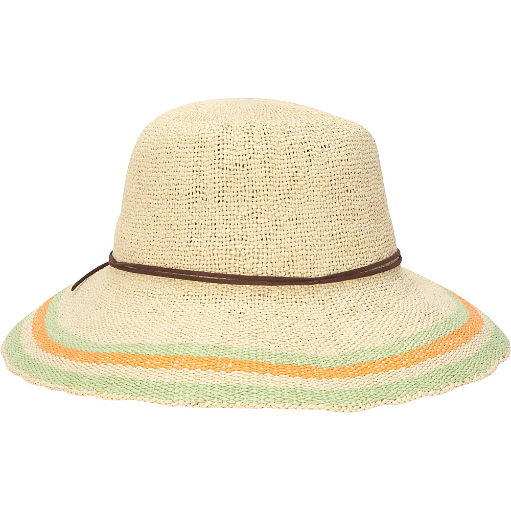 Sun N Sand Paper Crochet Hat One Size - Natural - Sun N Sand Hats/Gloves/Scarves - Fashion Accessories, Hats/Gloves/Scarves