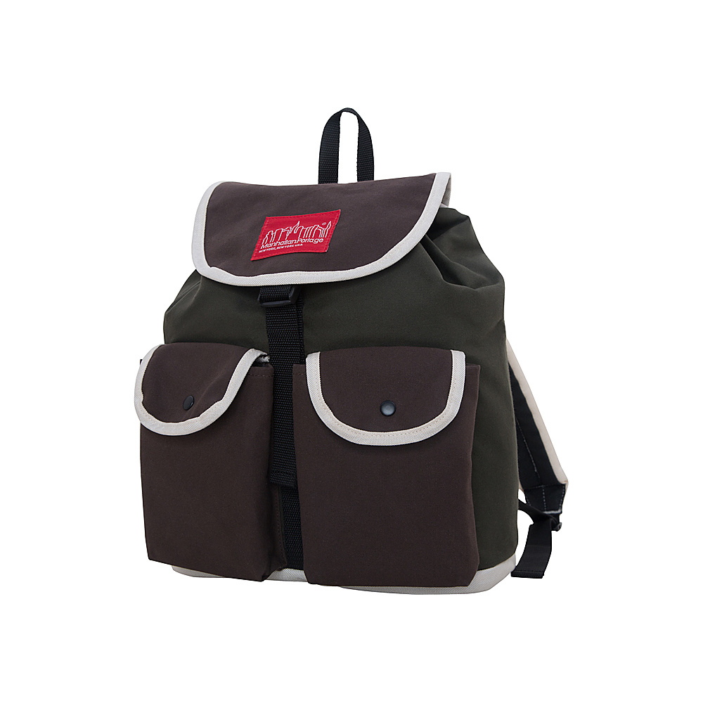 Manhattan Portage Army Duck Beekman Backpack PNE/BLK/IVY - Manhattan Portage Everyday Backpacks - Backpacks, Everyday Backpacks