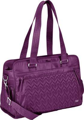 Lug Caboose Carry All Bag Plum - Lug Diaper Bags & Accessories