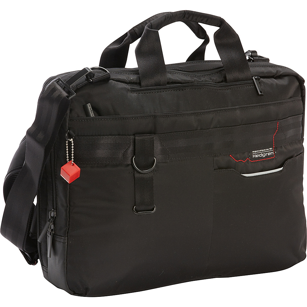 Hedgren Brook Business Bag Black Hedgren Non Wheeled Business Cases