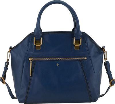 Elliott Lucca Faro City Satchel River - Elliott Lucca Designer Handbags