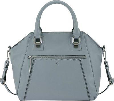 Elliott Lucca Faro City Satchel Sky - Elliott Lucca Designer Handbags